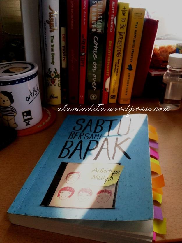 Banyak warna di Buku menandakan banyak quotes kece sepanjang membaca buku ini :)
