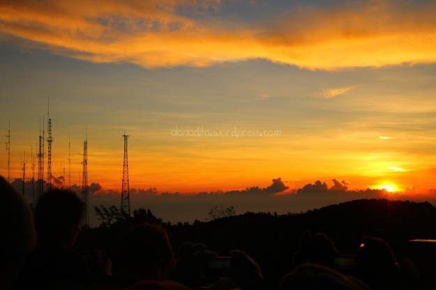 Golden Sunrise di Pananjakan, Bromo