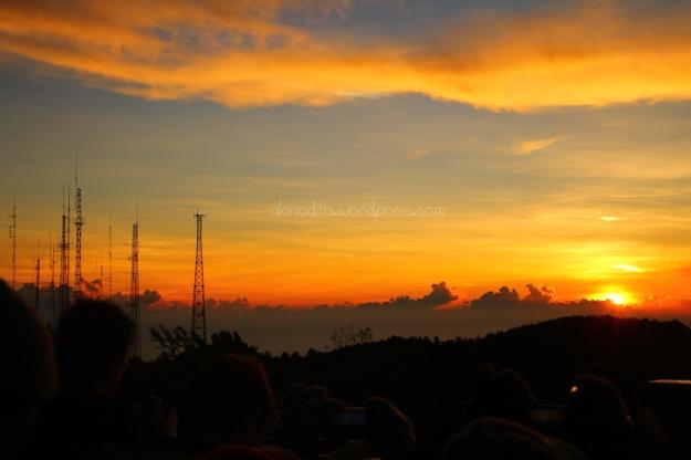 Golden Sunrise di Pananjakan, Bromo