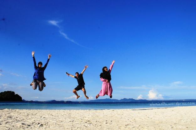 Hap Hap melompat lebih tinggi!