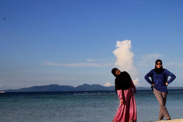 Pulau Pahawang Kecil.