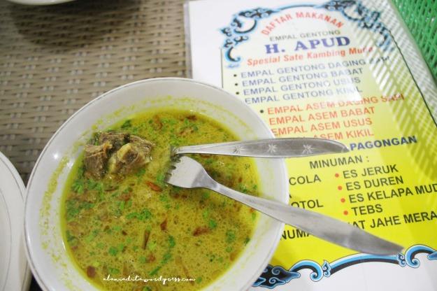 Cirebon-Empal Gentong