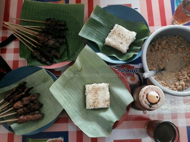 Sate Maranggi full