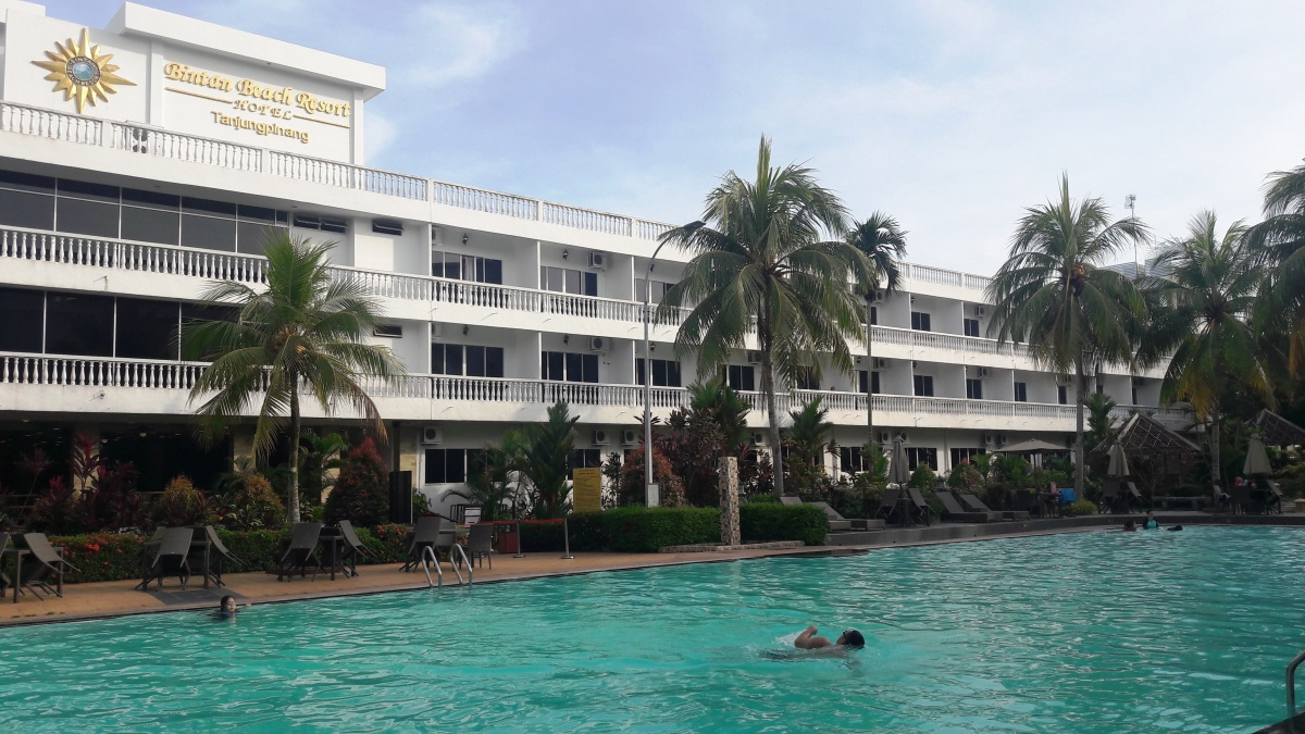 Bintan Beach Resort, Tanjung Pinang; Meski murah tetep Mewah.